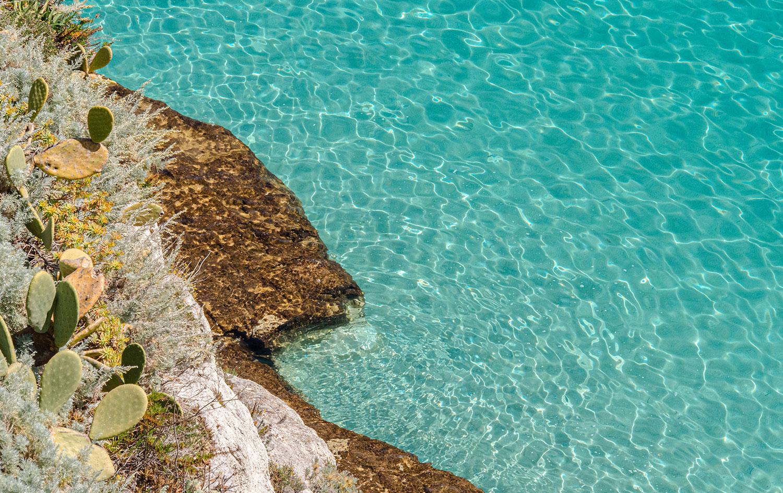 La spiaggia della Linguata e i suoi fondali pescosi